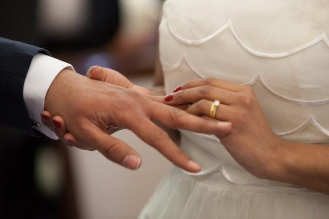 結婚式の結婚指輪