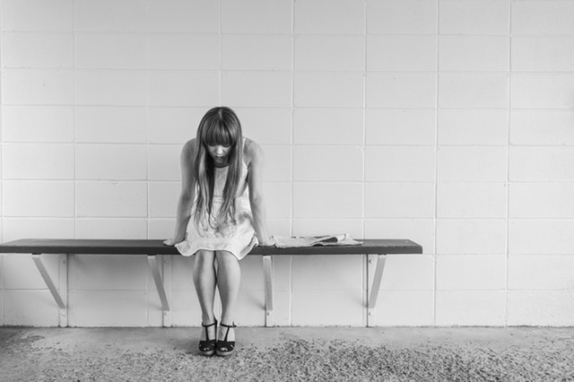自己嫌悪に陥る女性