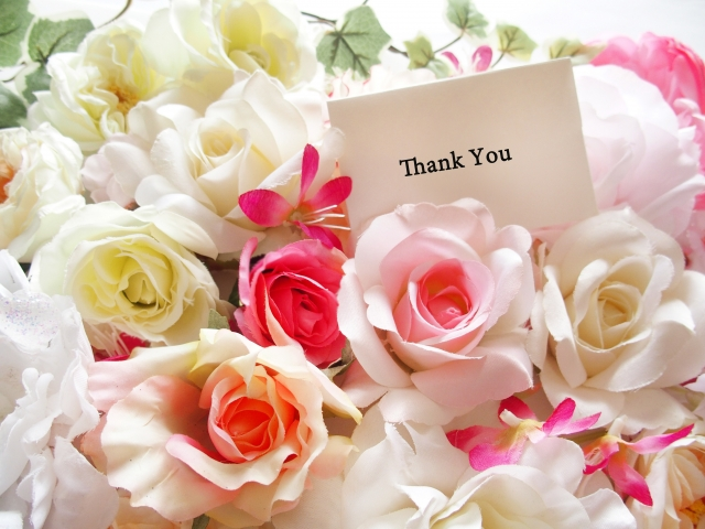 相手への愛情と感謝の花束