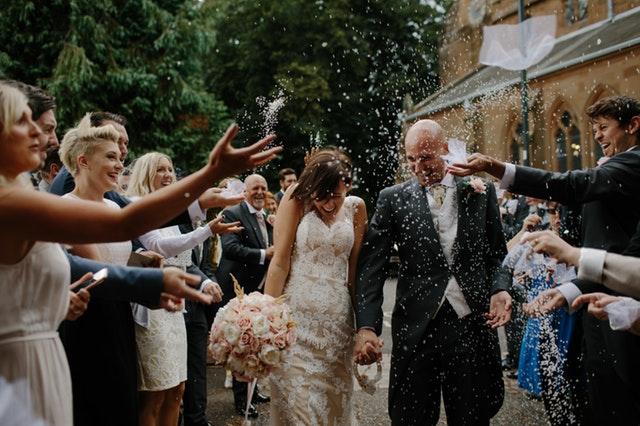 楽しかった結婚式