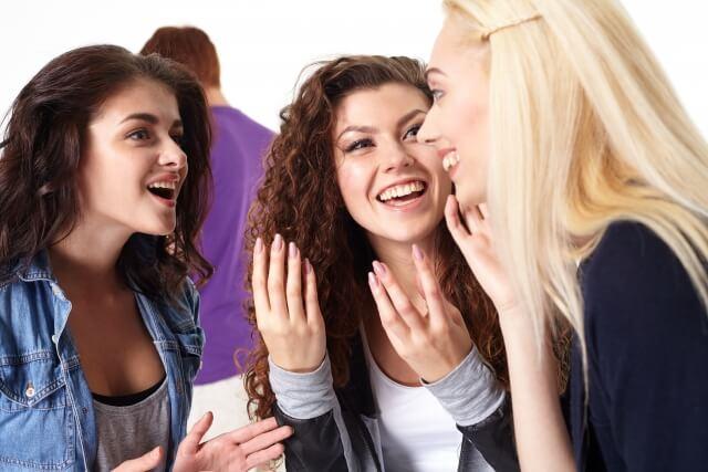 付き合う前に恋愛相談する女性