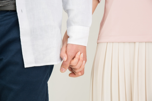 恋愛ルールを守るカップル