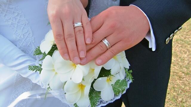 2人の結婚指輪