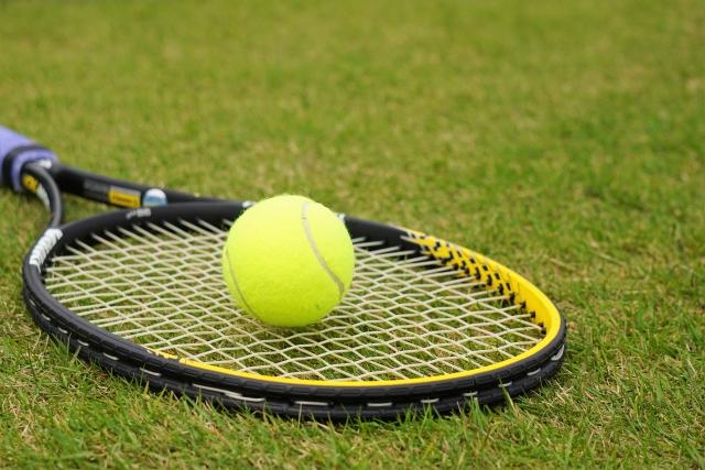 気分転換のテニス