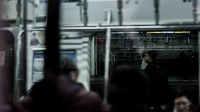 職場の行き来に使う電車