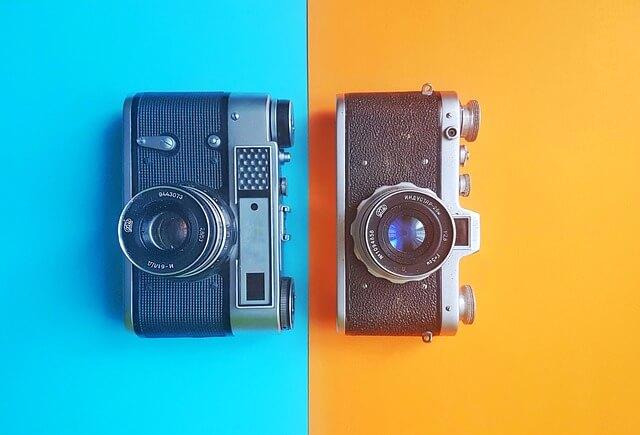 共通の趣味のカメラ