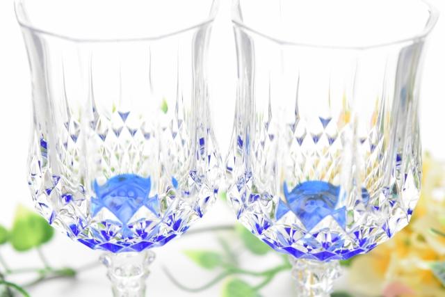 美しいペアグラス
