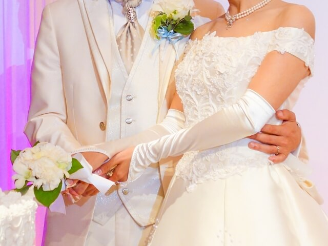 実際に結婚式を挙げたときのイメージ