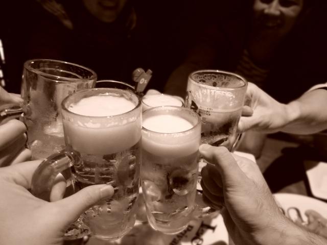 昔の友達との飲み