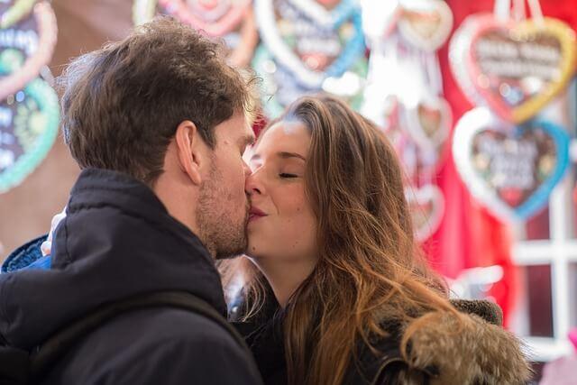 デート終わりのキス