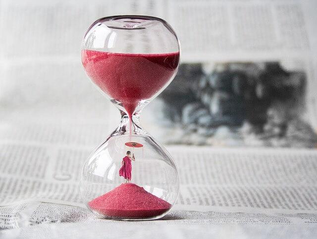 長いキス時間