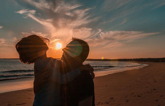 キスの長さと愛情の相関関係