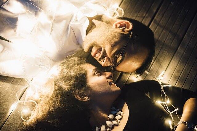 鼻息の荒いキス