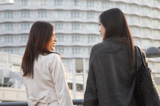 女友達への相談