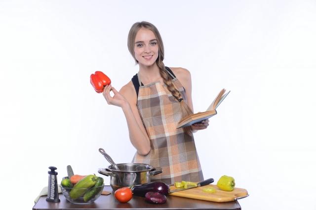 料理が得意な女性