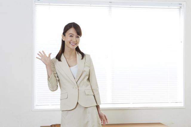 笑顔の多い女性