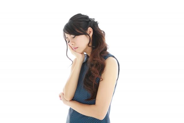 離婚に体力を奪われる女性