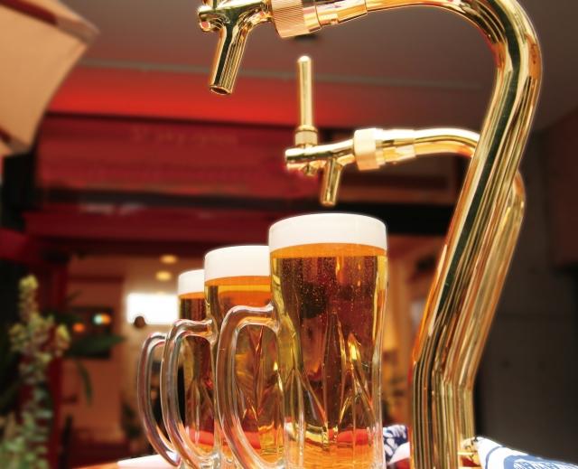 飲み屋のビール
