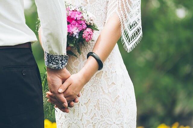 結婚を考えているカップル