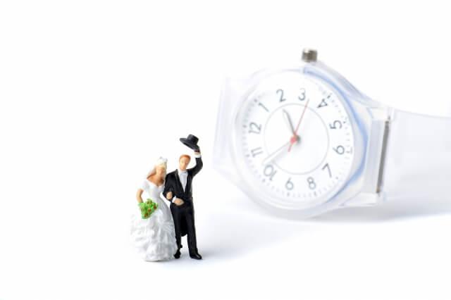 余裕をもって結婚準備する女性