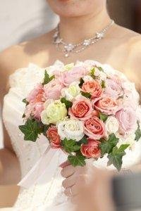 花嫁のフェイスライン