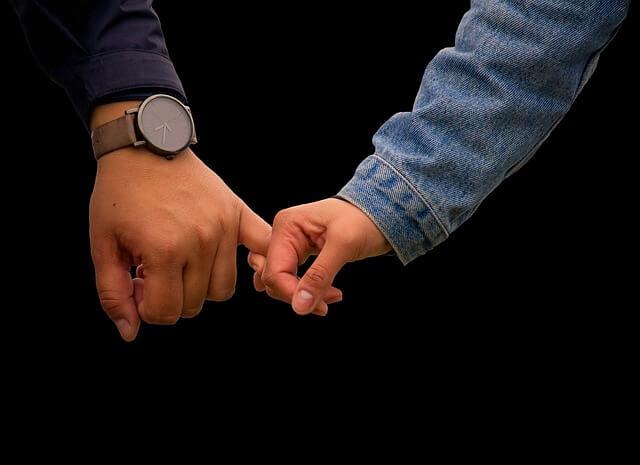 2人の関係を大事にする男性