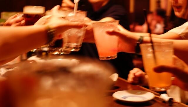 共通の知人との飲み会