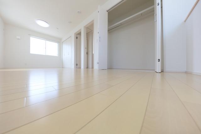 新しく住む部屋