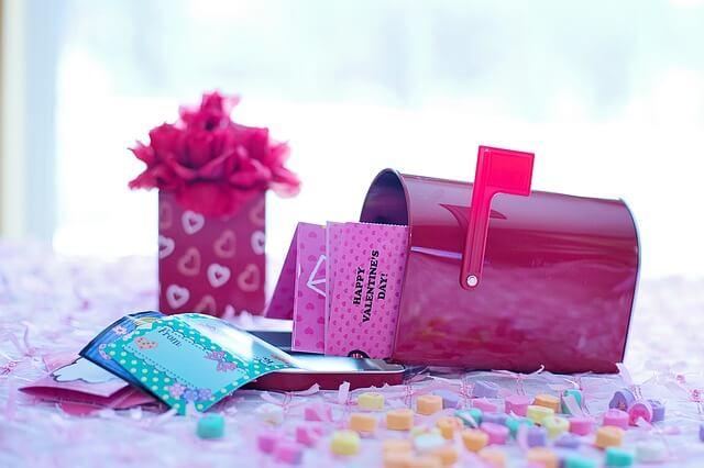 バレンタインチョコと手紙