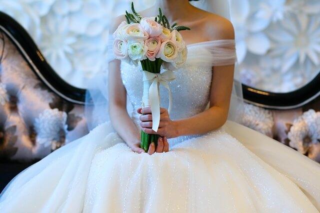 綺麗になる花嫁