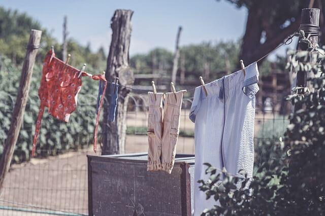 彼氏の服の洗濯