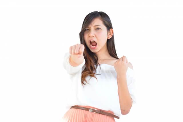 20代女性に対抗意識を持つ女性