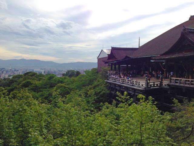 旅行先の寺院
