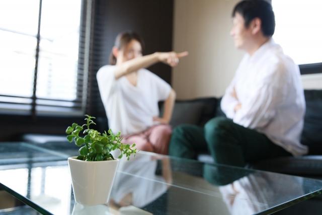 価値観を押し付け合うカップル