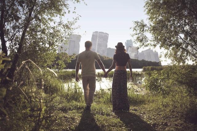 自立したカップル