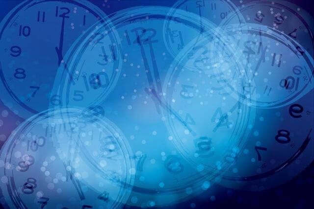 時間の流れの差