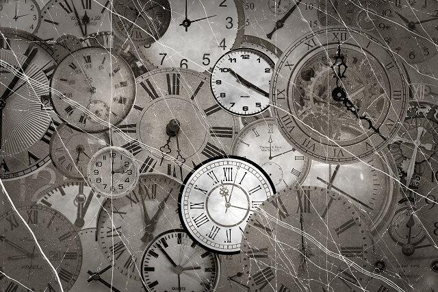 時間の解決