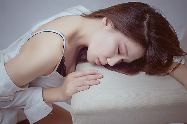 肉体関係は拒む女性