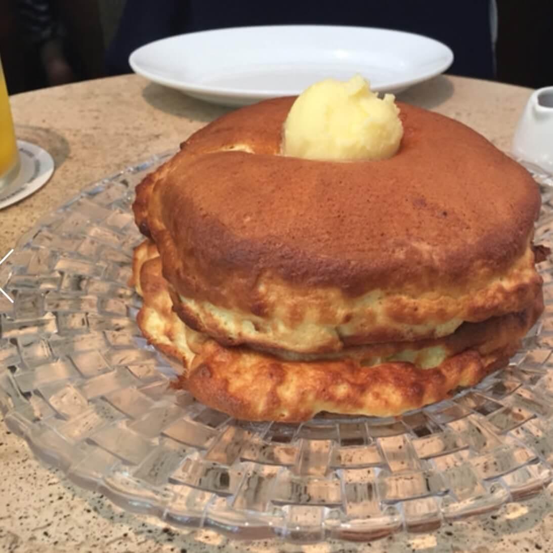 美味しそうなパンケーキ