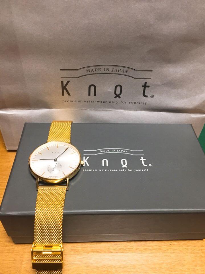 Knotの時計