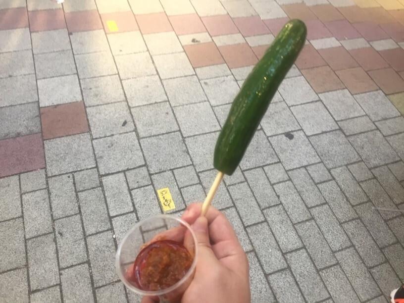 肉味噌キュウリ